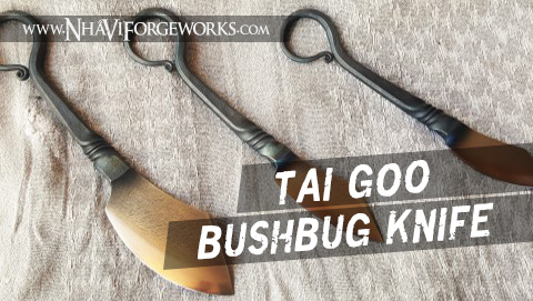 How to Forge A Tai Goo Bushbug Knife